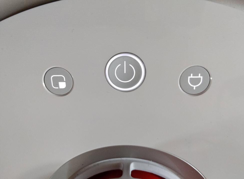 Xiaomi Roborock S50 Buttons