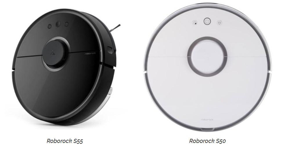 Xiaomi Roborock S50 vs S55
